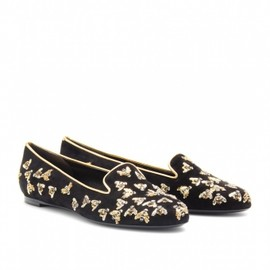 Alexander McQueen - 2013/SS■SPADE ANIMAL PRINT SLIPPER-STYLE LOAFERS