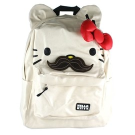 Mustache - Hello Kitty Backpack with Ears