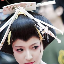 花魁 - Oiran-Tayu is the top courtesan in kyoto( Shimabara )