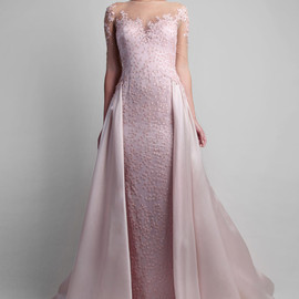 gemy maalouf - pink gown