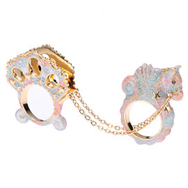 DISAYA - Coach Chain Princess Mermaid Ring