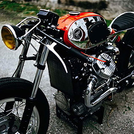 Rusty Factory - 'Fire Ant' Honda CX500 Cafe Racer