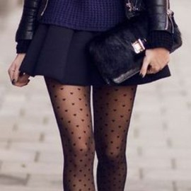 Heart Tights/style♡