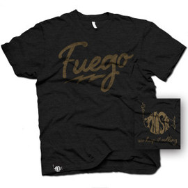 Phish Dry Goods - Fuego T-shirt on Charcoal