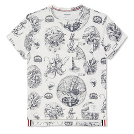Thom Browne - Tattoo Print T