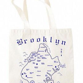 MAPTOTE - Brooklyn Grocery Tote