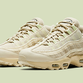 NIKE - Air Max 95 PRM - Grain/Black/Beach/Coconut Milk