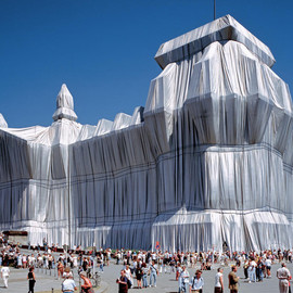 Christo and Jeanne-Claude - Wrapped Reichstag