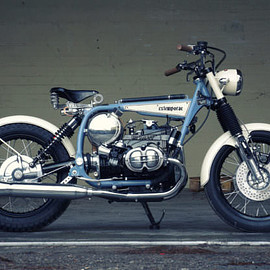 BMW - Time Traveller:R45 reimagined, 1930s style