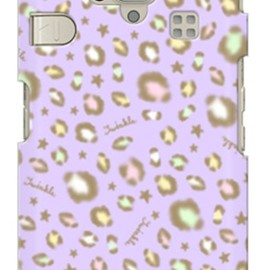 SECOND SKIN - uistore 「twinkle (purple)」 / for シンプルスマホ 204SH/SoftBank