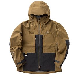 NIKE, Nike ACG - Misery RDGE Gore-Tex Jacket - Golden Beige/Anthracite/Black