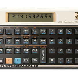 HP 12c - 30th Anniversary Edition Scientific Calculator