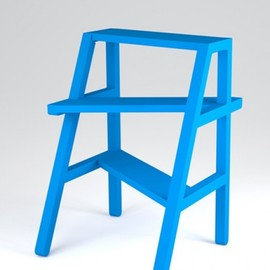 Thierry Didot and Damien Ummel from Atelier Peekaboo - 'Strep' stepladder