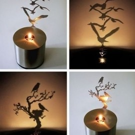 Shadow Projecting Candle
