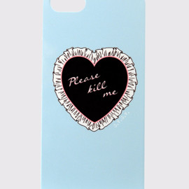 "G.V.G.V. - ""PLEASE KILL ME"" iPhone CASE(5,5S用)BLUE"