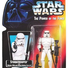 kenner - STAR WARS Power of the Force Red Card - Stormtrooper Action Figure