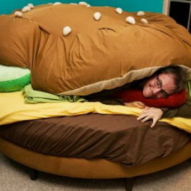 not - The Hamburger Bed