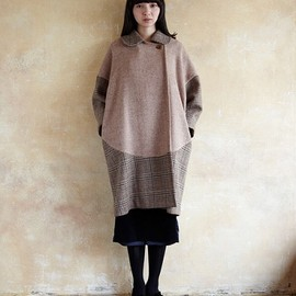 COSMIC WONDER Light Source - HARRIS TWEED TAILORED COAT