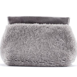 Acne - Oxide Fur Grey