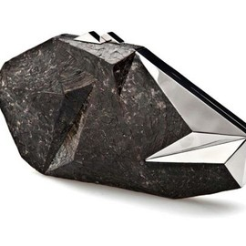 NATHALIE TRAD - POLYGONIA CLUTCH BAG