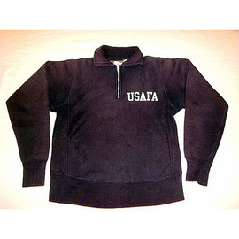 CHAMPION - USAFA Half Zip Sweat Shirt
