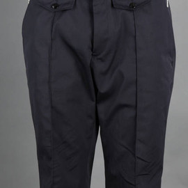 Dries Van Noten - SHORT CLASSIC TROUSERS WITH FLAP POCKETS AND SIDE ZIP DETAILS