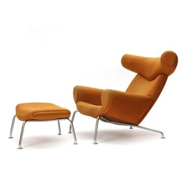 Hans J. Wegner - Ox Chair and Ottoman