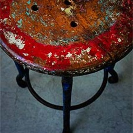 unknown - French Antique Stool