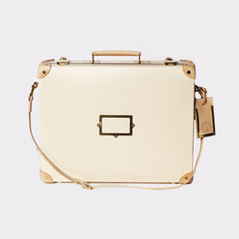 GLOBE-TROTTER - SOPHIE HULME LIMITED EDITION, 18″ Slim Attaché, Ivory/Natural