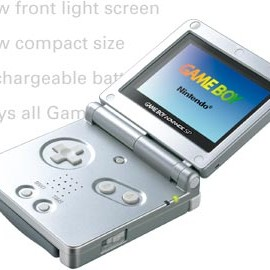 Nintendo - GAME BOY ADVANCE SP