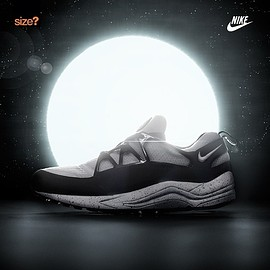 Nike, Size? - Air Huarache Light - Eclipse