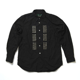 COMME des GARCONS HOMME PLUS, EVER GREEN - Studded Shirt