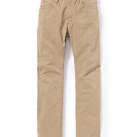 nonnative - DWELLER 5P JEANS USUAL FIT COTTON CHINO