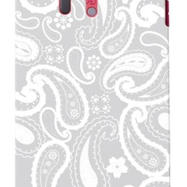 SECOND SKIN - ペイズリー グレー / for  ARROWS X LTE F-05D/docomo