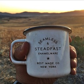 """he calls it his """"everything cup"""", and we love that a simple well made cup is an invaluable tool"""
