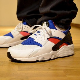 Nike - Air Huarache OG - White/Royal/Dynamic Pink