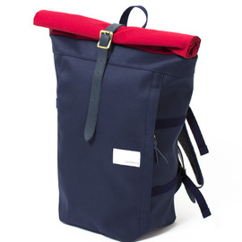 nanamica - Cycling Pack / Navy×Red