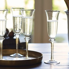Pottery Barn - LOUIS CHAMPAGNE FLUTE