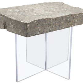 BRC Designs - Found Concrete Side Table