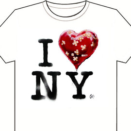 Banksy - the official Banksy New York residency souvenir T shirt