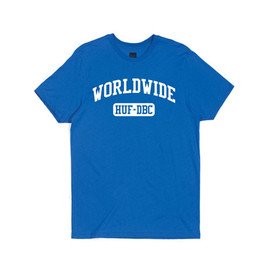 HUF - WORLDWIDE SPORT TEE (Royal)