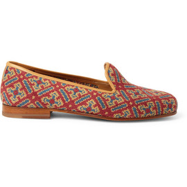 Stubbs & Wootton - Needlepoint Tapestry Slipper