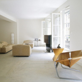 3 Rooms Hotel, Paris with Jean Prouve and Marc Newson's pieces