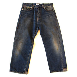 UNDERCOVERISM - cropped  backrollup denim