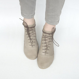 The Leather Handmade Midi Booties - The Leather Handmade Midi Booties