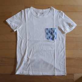"Old Park - Pajama Pocket Tee ""White"""