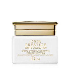 DIOR - PRESTIGE WHITE COLLECTION CRÈME SATIN ÉCLAIRCISSANTE EXQUISE NUTRITION