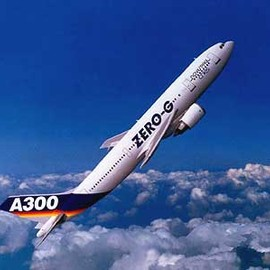 "Airbus A300 - ""Zero G"" Airbus A300 (Zero G: Floating in the Air within the Plane)"