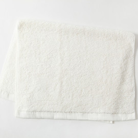 MARGARET HOWELL - COTTON RAMIE TOWEL BATH  MAT WHITE