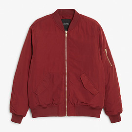 Monki - Padded bomber jacket